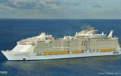 Escale de l'Harmony of the Seas à Sint Maarten !