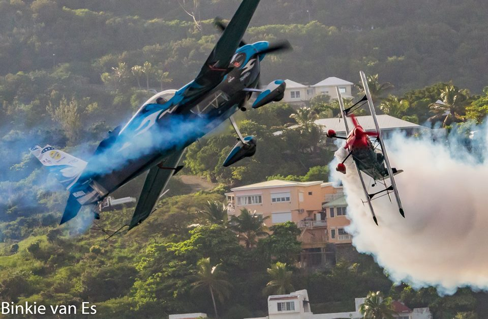 The Sint Maarten Air Show: a parade in the sky!