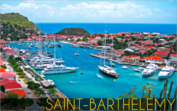 Destinations saint barthelemy