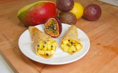 """Saint-Martin: The crepes at the """"Chandeleur"""" in the West Indies… We love it :)"""
