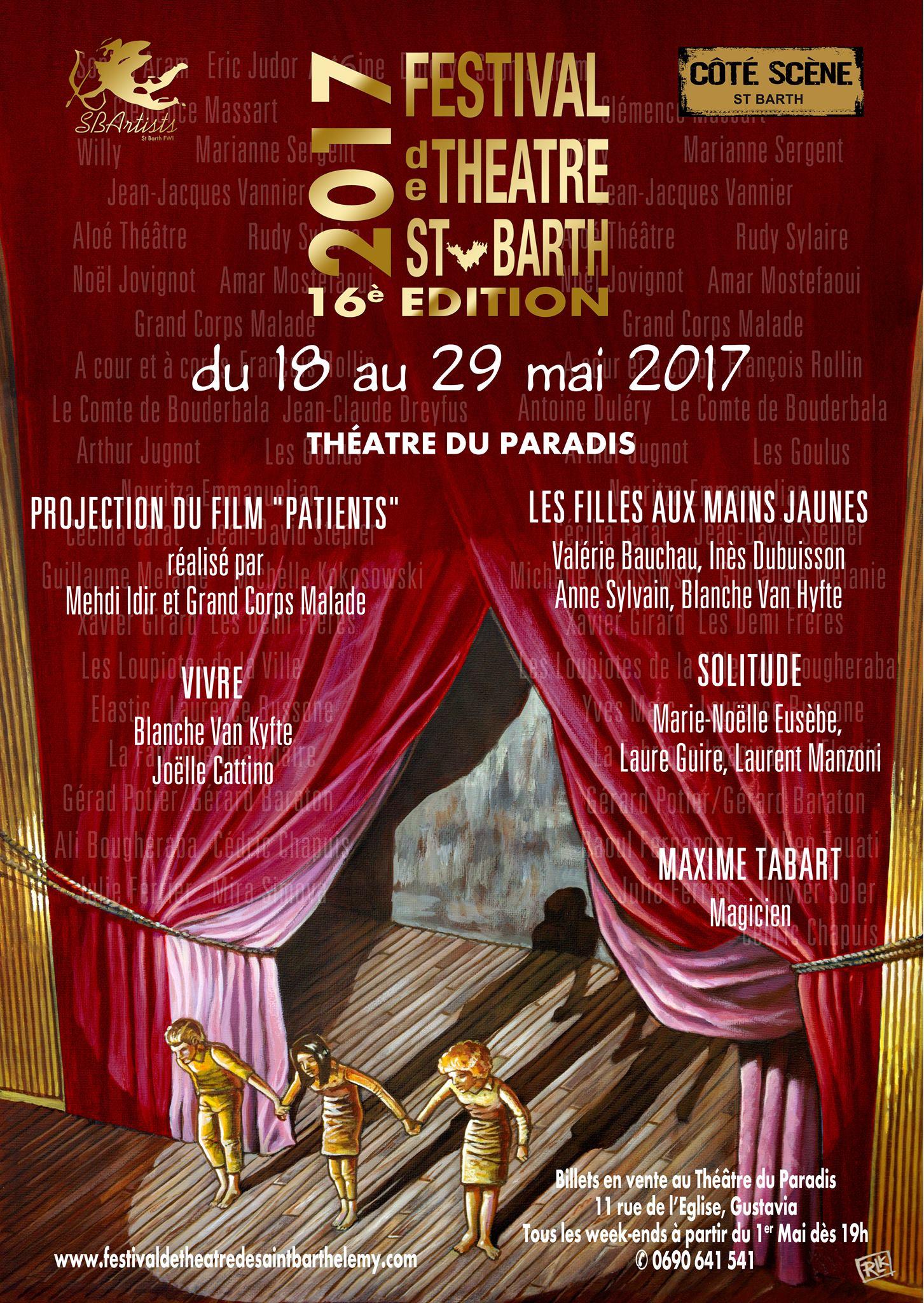 Festival de Théâtre – Drama Festival – St Barthélémy