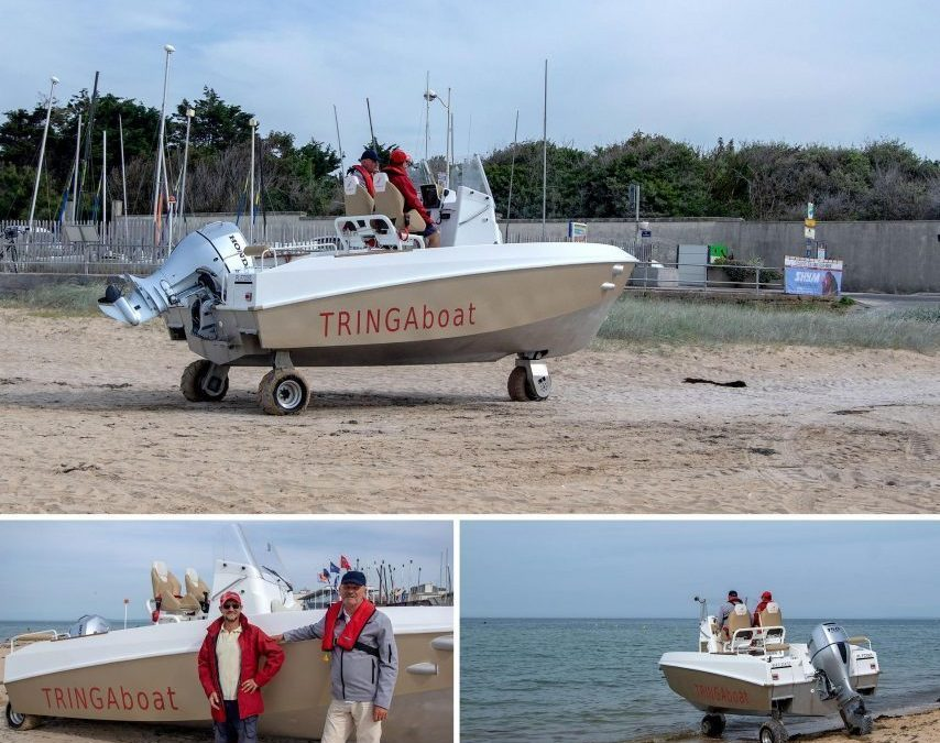 UNUSUAL: The first boat to ride