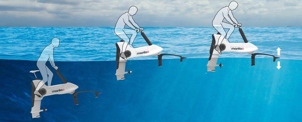 INSOLITE : Manta5, quand nautisme et cyclisme fusionnent